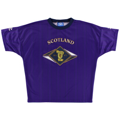 1994-95 Scotland Umbro Training Shirt L