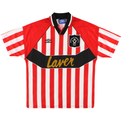 1994-95 Sheffield United Umbro Home Shirt L