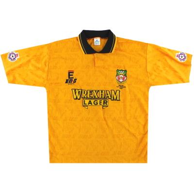 1994-95 Wrexham 'Welsh Cup Winners' Away Shirt *Mint* M