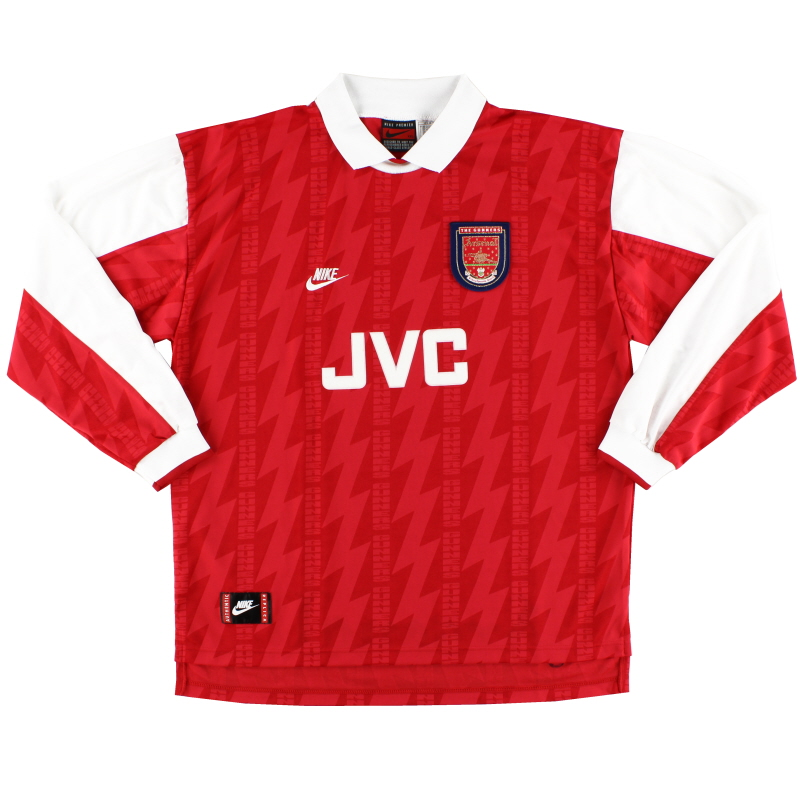 1994-96 Arsenal Home Shirt L/S XXL