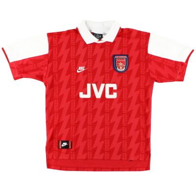 1994-96 Arsenal Nike Home Shirt L.Boys