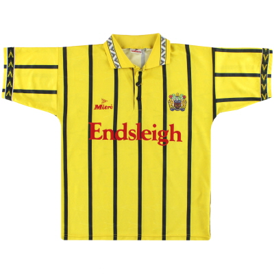 1994-96 Burnley Mitre Away Shirt M