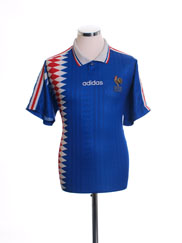 1994-96 France Home Shirt M