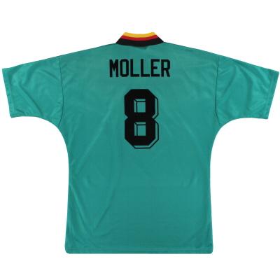 1994-96 Germany adidas Away Shirt Moller #8 M
