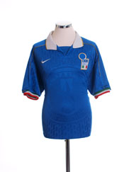 1994-96 Italy Home Shirt XL