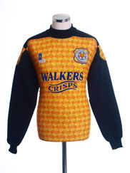 1994-96 Leicester Goalkeeper Shirt #1 *Mint* M