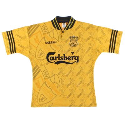 1994-96 Liverpool adidas Third Shirt M