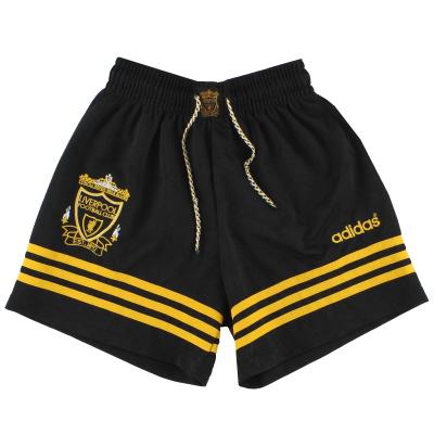 1994-96 Liverpool adidas Third Shorts XS