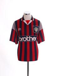 1994-96 Manchester City Away Shirt L