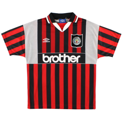 1994-96 Manchester City Away Shirt