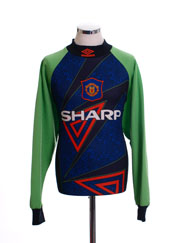 1994-96 Manchester United Goalkeeper Shirt *Mint* XL
