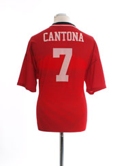 1994-96 Manchester United Home Shirt Cantona #7 L