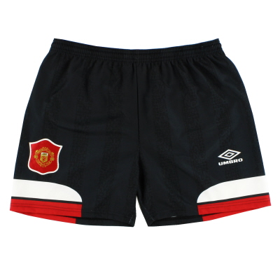 1994-96 Manchester United Home Change Shorts M