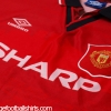 1994-96 Manchester United Home Shirt XXL