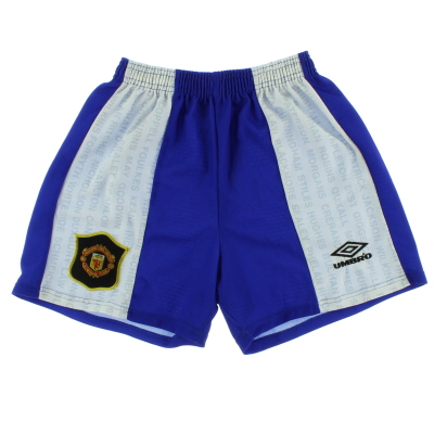 1994-96 Manchester United Third Shorts M