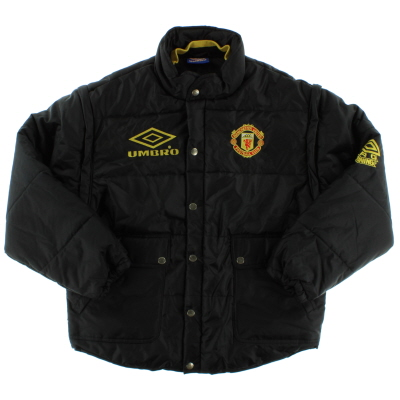 1994-96 Manchester United Umbro Padded Rain Coat M