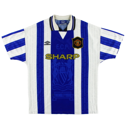 1994-96 Manchester United Umbro Third Shirt L