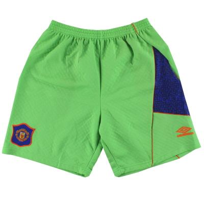 1994-96 Manchester United Umbro Goalkeeper Shorts XL