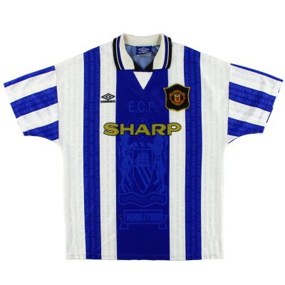 1994-96 Manchester United Umbro Third Shirt L