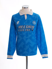 1994-96 Napoli Home Shirt L/S L