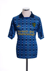 1994-96 Norwich City Away Shirt M