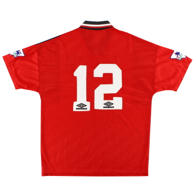 1994-96 Nottingham Forest Reserves Player Issue Home Shirt #12 XL