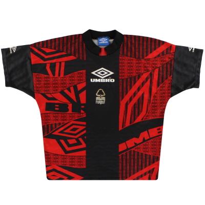 1994-96 Nottingham Forest Umbro Training Shirt L
