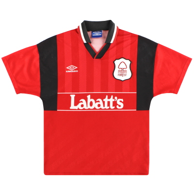 1994-96 Nottingham Forest Umbro Home Shirt L