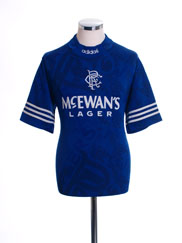 1994-96 Rangers Home Shirt XL