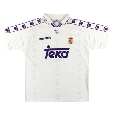 1994-96 Real Madrid Kelme Home Shirt L