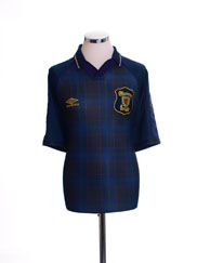 1994-96 Scotland Home Shirt L.Boys