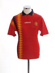1994-96 Spain Home Shirt S
