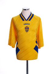 1994-96 Sweden Home Shirt L