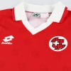 1994-96 Switzerland Lotto Home Shirt XS