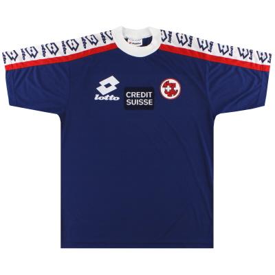 1994-96 Switzerland Lotto Training Shirt L
