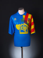 1994-95 Valencia Away Shirt XL