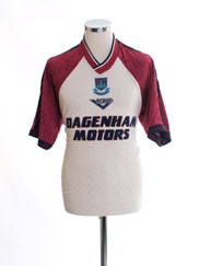 1994-96 West Ham Third Shirt M