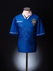 1994-97 Brazil Away Shirt L