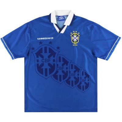 1994-97 Brazil Umbro Away Shirt XL