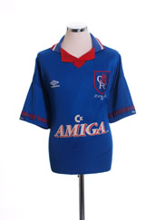 1994 Chelsea 'FA Cup Final' Home Shirt M