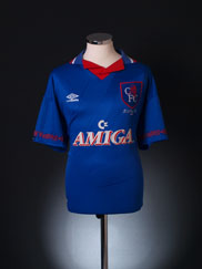 1994 Chelsea 'FA Cup Final' Home Shirt L