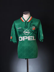 1994 Ireland Home Shirt L