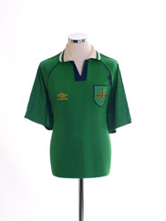 1994 Northern Ireland Prototype Home Shirt XL
