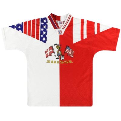 1994 Switzerland World Cup T-Shirt M