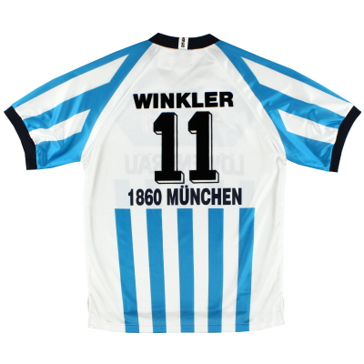1995-96 1860 Munich Home Shirt Winkler #11 L