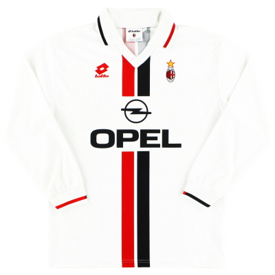 1995-96 AC Milan Away Shirt L/S XL
