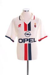 1995-96 AC Milan Away Shirt XL