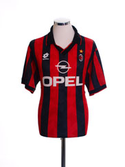 1995-96 AC Milan Home Shirt L