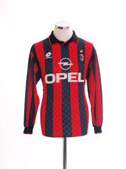 1995-96 AC Milan Home Shirt L/S S