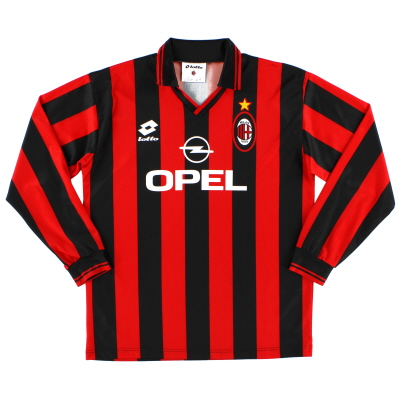 1995-96 AC Milan Home Shirt L/S XXXL.Boys